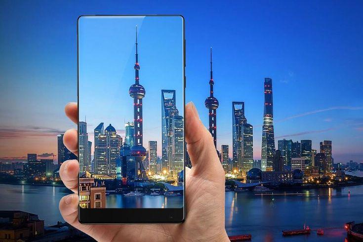 Mi Mix : Xiaomi dévoile un smartphone futuriste et (presque) sans aucune bordure autour de lécran