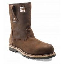 Buckler B601SMWP Safety Rigger Boots Dark Brown