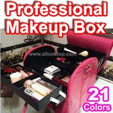 Senhoras bolsa necessaries maquiagem organizador grande maleta de maquiagem maquiagem profissional grande estojo de maquiagem bolsas das mulheres(China (Mainland))