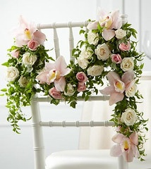 Orchid Rose Chair Décor ... $194