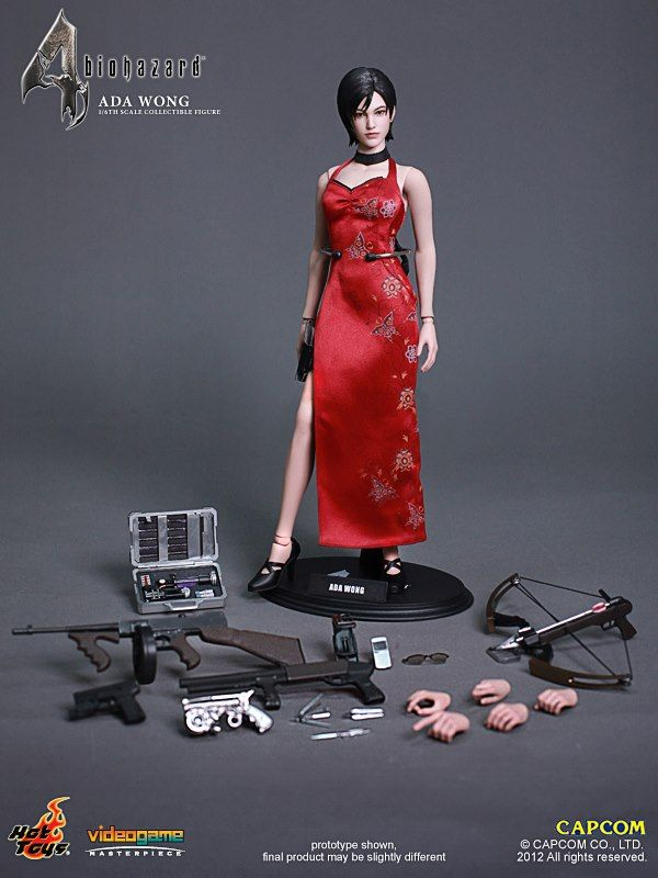 Ada Wong Of Resident Evil 4 Is The Latest Incredible Hot Toys Figure OMG I WANT IT!!!!!