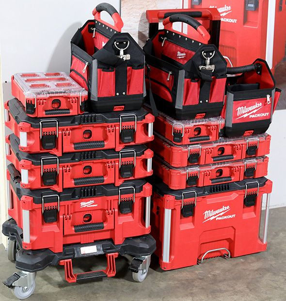 Milwaukee Packout Wheeled Dolly Stack In 2020 Milwaukee