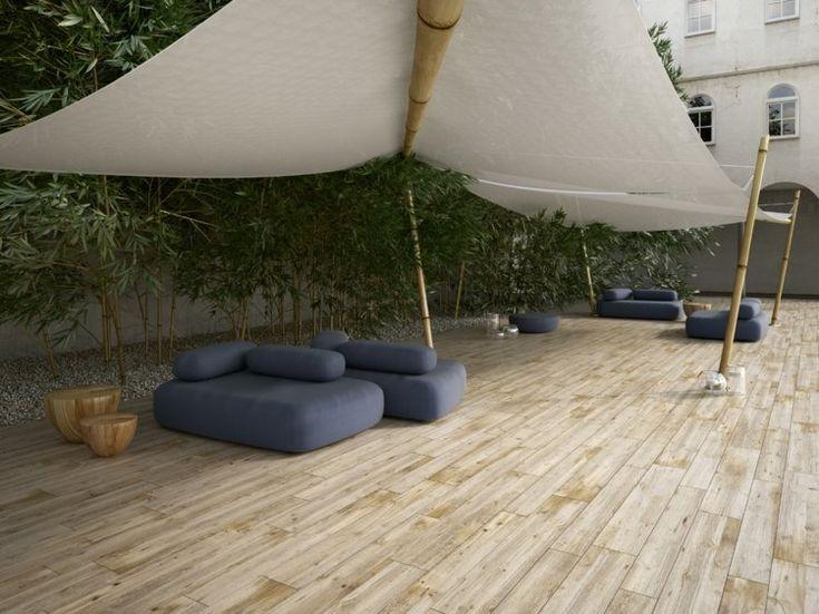 21 best גרניט פורצלן דמוי פרקט images on Pinterest Floors - revetement exterieur imitation bois