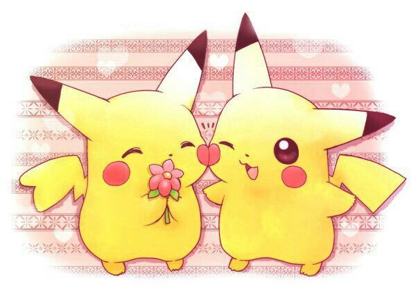 Silver Lost Cute And Pikachu