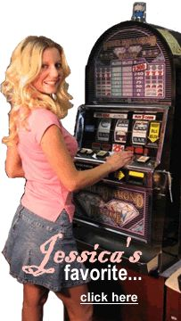 Jessica's Favorite Slotmachine is WMS Video Machine