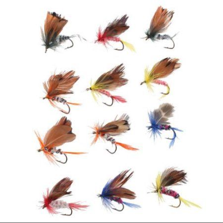 AGPtek 48pcs Trout Fishing Lures Spinnerbait for Fly Fishing - Walmart.com
