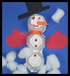 Eierkarton Schneemann Arts & Crafts Project   – Art Projects for the Classroom