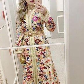 "11 Likes, 1 Comments - Dubai Fashionista (@dubaifashionista) on Instagram: ""#fashionistaoftheday #moroccanstyle #moroccandress #moroccanwedding #moroccancaftan #caftan…"""