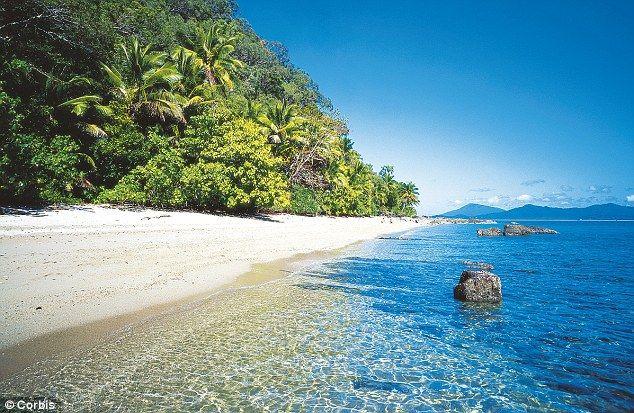 Muggy Muggy Beach in Queensland Australia