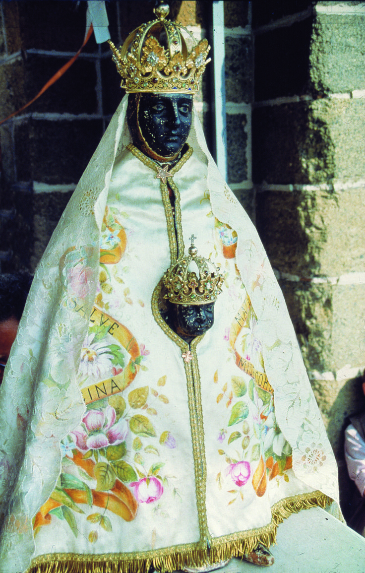 Le Puy-en-Velay, préf. de la Haute-Loire, France, région Auvergne. Cathédrale Notre-Dame, Vierge Noire