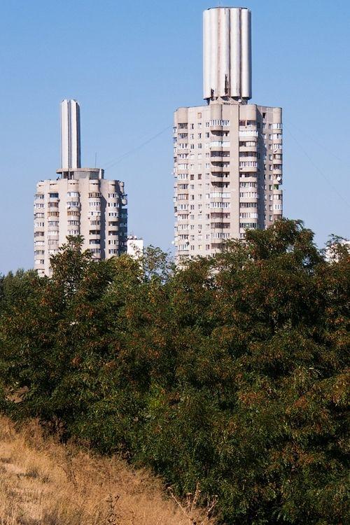 Ukraine, Kiev, state housing project  #socialist #brutalism #architecture