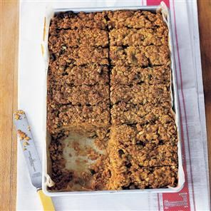 chew seedy oat bars with apricots from rachel allen. these will not burn off so quickly as cookies.