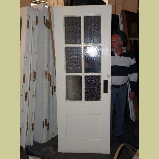 Painting Old Interior Doors: VINTAGE INTERIOR PAINTED SCHOOL HOUSE DOOR WITH TEXTURED