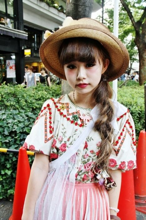 Japanese girl dolly kei ntb grimoire style