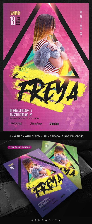 Guest DJ Flyer Template #Photoshop #Design #Flyer #Template   DJ ...