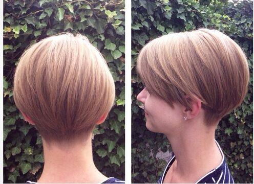 Cute Short Haircut for Girls