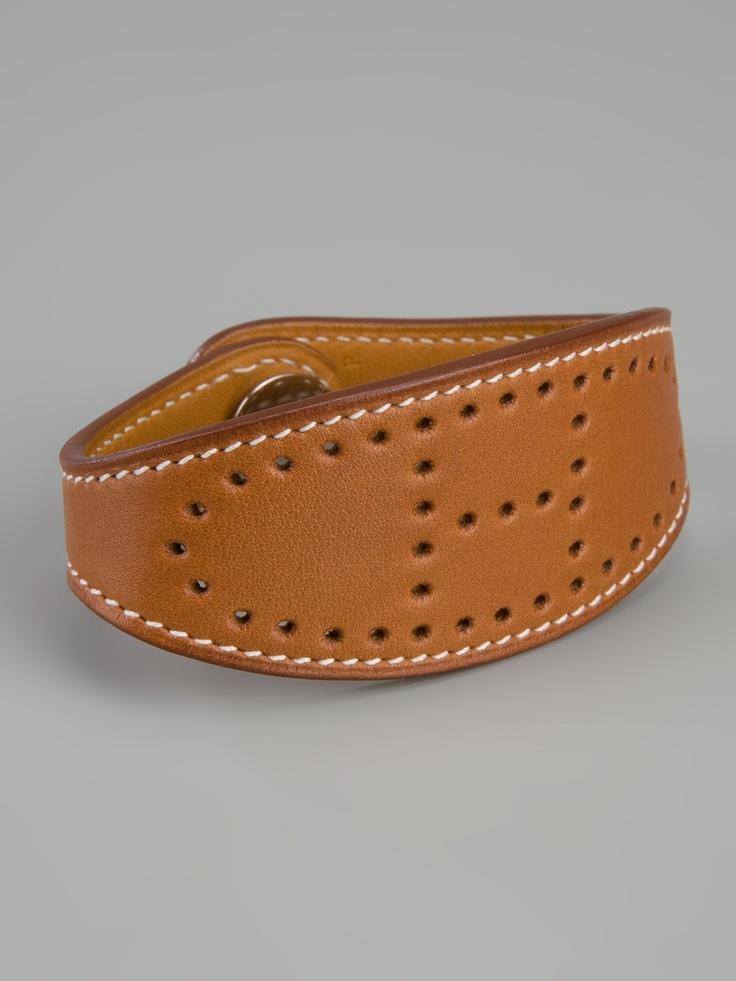 Hermès Vintage Logo Bracelet - A.N.G.E.L.O Vintage - farfetch.com.br