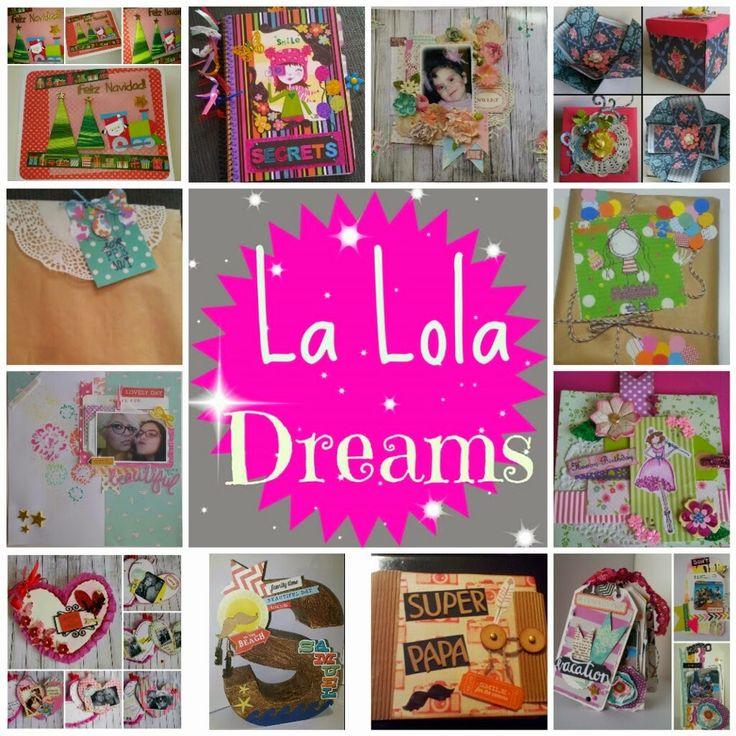Mi Mundo con ellos Tres: Blogger Invitado: La Lola Dreams y el SCRAPBOOKING...