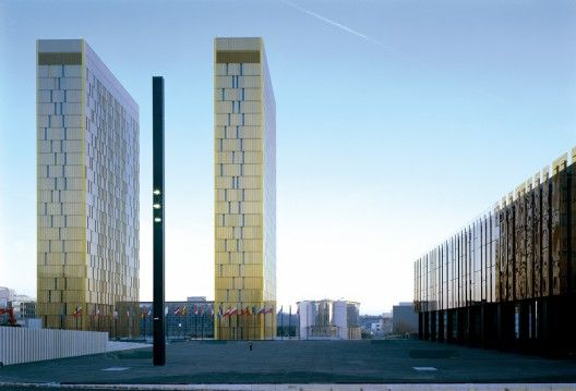 European Court of Justice in Luxembourg by Dominique Perrault