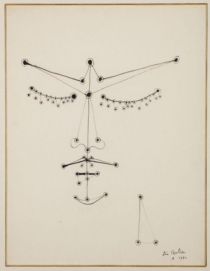 """drakontomalloi: """" Jean Cocteau - Orphée Aux Yeux Perlés / Orpheus with Pearl Eyes. 1950 """""""