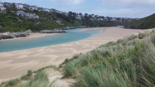 Cornwall Crantock sand dune beach #Cornwall #nature #beach #uk #sand #dunes #uk