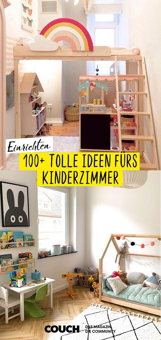 Idéias de design de interiores para o berçário   – Kinderzimmer
