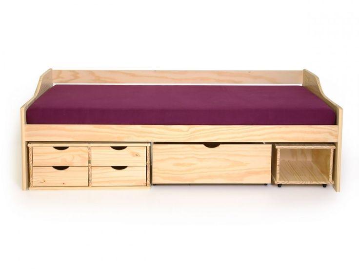 die besten 17 ideen zu bett mit schubladen auf pinterest. Black Bedroom Furniture Sets. Home Design Ideas