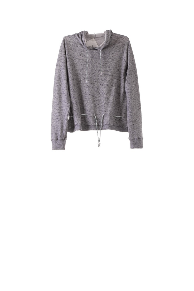 shoelace hood sweat via ANN-SOFIE BACK. Click on the image to see more!