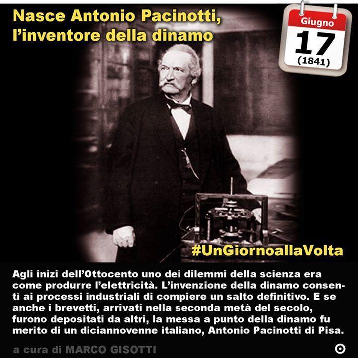 Antonio Pacinotti, inventore della dinamo