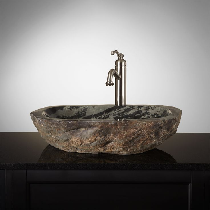 Natural Stone Sink : Ocmulgee Natural Stone Vessel Sink Bathrooms Pinterest
