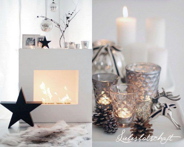ber ideen zu weihnachten kamin auf pinterest weihnachtsdekoration weihnachten haus. Black Bedroom Furniture Sets. Home Design Ideas