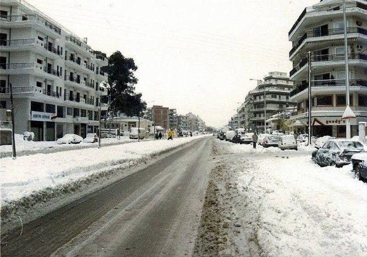 Χιόνια 1988 - Νέα Εγνατία