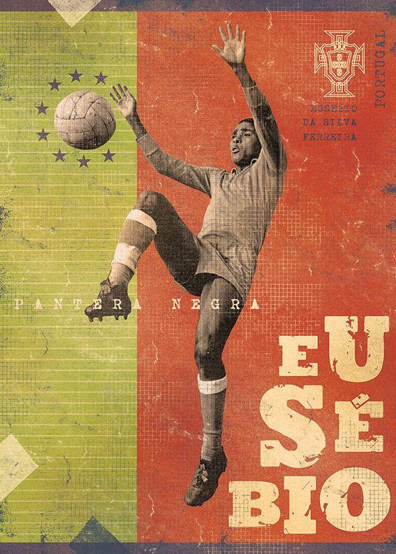 Eusebio The Gods Of Football (Part II) on Behance