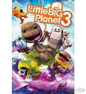 Little Big Planet 3 Poster Cover Hier bei www.closeup.de