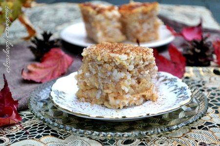 Zapiekany ryż z jabłakmi i cynamonem Ewy Wachowicz