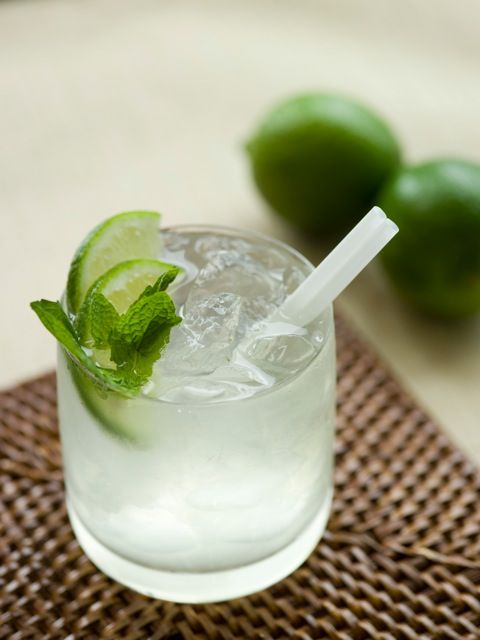 """Gin Rickey and one other gin drink. Perfect for """"The Great Gatsby"""" party!"""