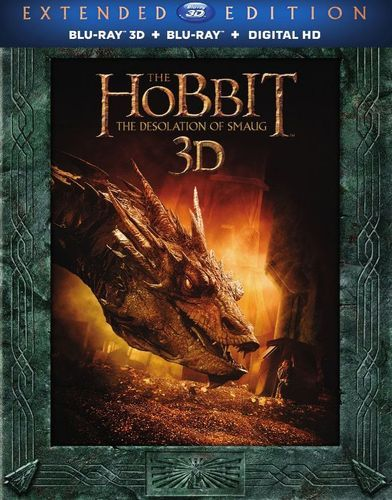 The Hobbit: The Desolation of Smaug 3D [Includes Digital Copy] [UltraViolet] [3D] [Blu-ray] [Blu-ray/Blu-ray 3D] [2013]