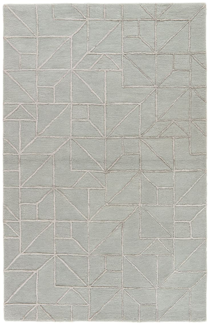 Jaipur Living City Ct97 Gray Silver Geometric Area Rug