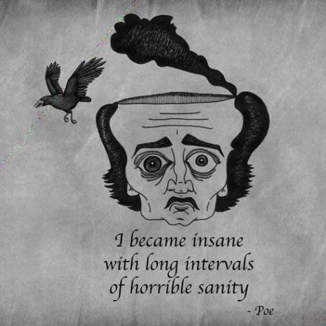 sanity - PoeLong Interval, Allen Poe, Insanity, Horrible Sanity, Edgar Allan Poe, Quotes, Art, Book, Edgar Allen
