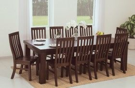 Kingston 2.4m Table with 10 Chairs#