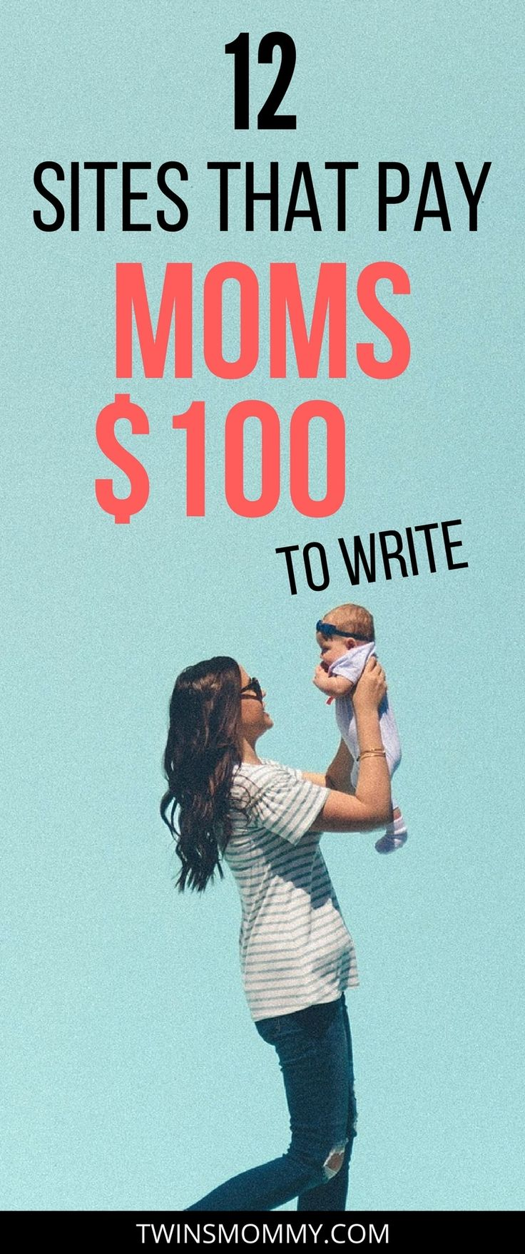 Are you a stay at home mom wanting to make money online as a mom blogger? Did you know that there are websites that pay you to write? Check out these 12 sites that will pay you $100 to write. blogging tips | blog tips | work from home | working from home | get paid to write