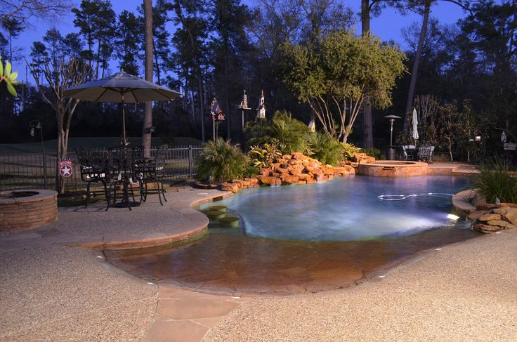 9 best entry types images on pinterest swimming pools for Affordable pools dfw