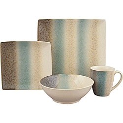 @Overstock - This 16-piece Sango Nouveau dinnerware set will add sophistication and style to your table. A unique hard square look on the dinner plates and a round bowls and mugs are highlighted by hues of brown, cream and teal.http://www.overstock.com/Home-Garden/Sango-Nouveau-Teal-16-piece-Dinnerware-Set/5656905/product.html?CID=214117 Add to cart to see special price