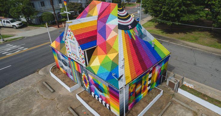 Street Artists Transformed Arkansas City Into A Stunning Outdoor Art Gallery | Bored Panda