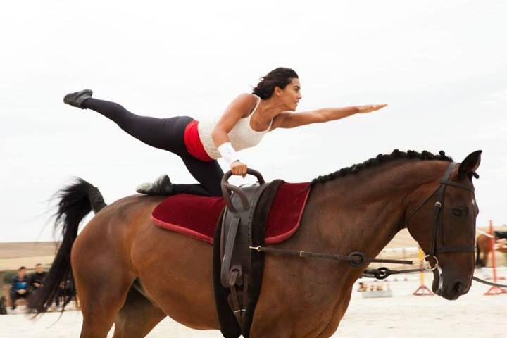 No ano em que o volteio passou a ser oficialmente uma disciplina da FEP, a atleta falou à EQUITAÇÃO sobre os preparativos para os Jogos Equestres Mundiais (JEM).