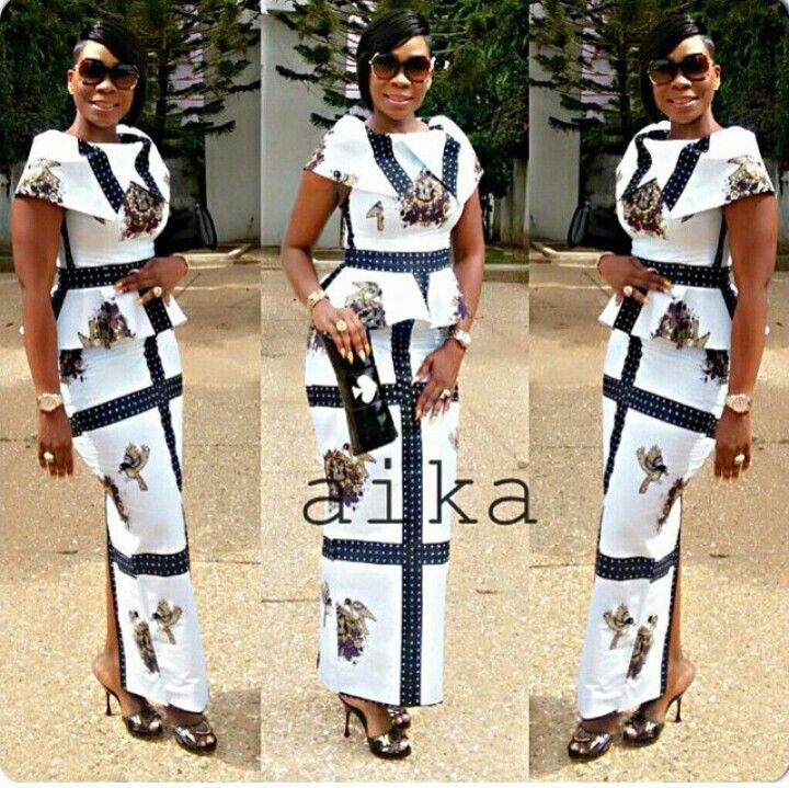 Elegance African Prints Pinterest