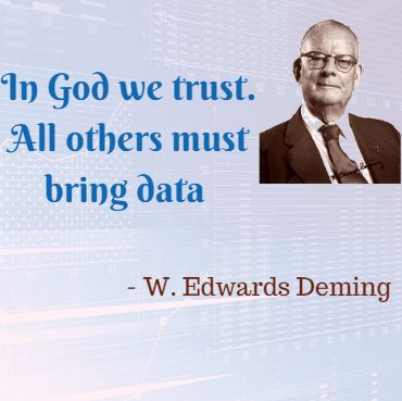 """""""In God we trust. All others must bring data."""" – W. Edwards Deming, At #MackaeTech we bring you all the data you need to see a clear picture."""