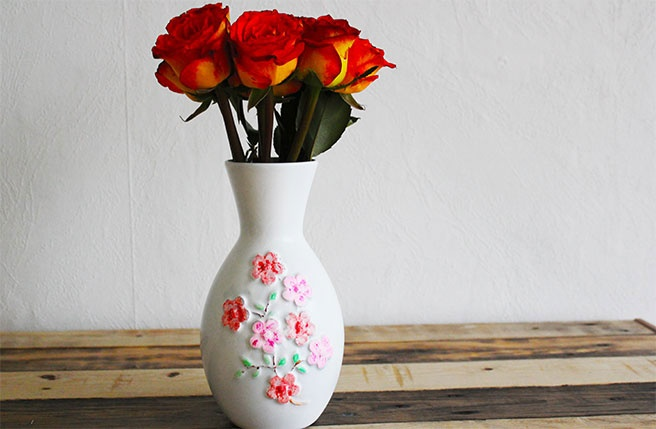 53 best diy vases images on pinterest home ideas for Recycled crafts to sell