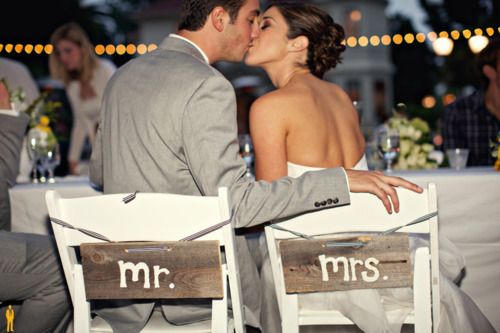 back of chairs: Buckets Lists, Numbers One, Wood Signs, Cute Ideas, The Plans, Future Husband, Life Goals, Wedding Chairs, Boys Who