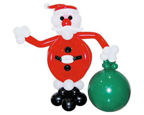We're sorry to break the news to you, but Santa Claus isn't from the North Pole...  He's from Balloons.Online!